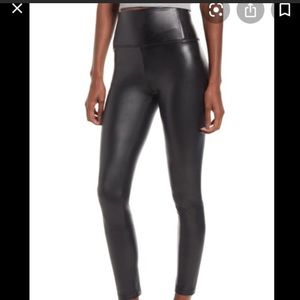 7 for all mankind faux leather leggings